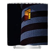Light From Within Shower Curtain by Marty Saccone