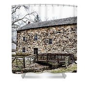 Lightfoot Mill At Anselma Chester County Shower Curtain by Bill Cannon