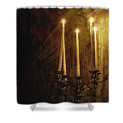Lighting The Way Shower Curtain by Margie Hurwich
