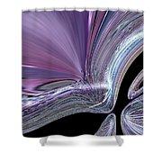 Like A Drop In The Splash Shower Curtain by Jeff Swan