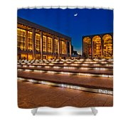Lincoln Center Shower Curtain by Susan Candelario
