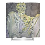 Lincoln Shower Curtain by Regan J Smith