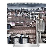Lisbon Rooftops I Shower Curtain by Marco Oliveira