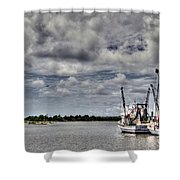 Little Shrimpers   Shower Curtain by Benanne Stiens