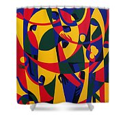 Live Adventurously Shower Curtain by Ron Waddams