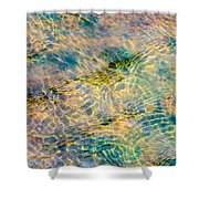 Live Water - Featured 2 Shower Curtain by Alexander Senin