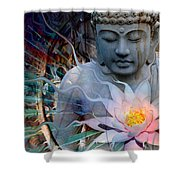 Living Radiance Shower Curtain by Christopher Beikmann