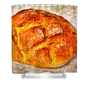 Loaf Of Bread Shower Curtain by Matthias Hauser