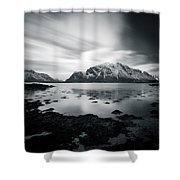 Lofoten Beauty Shower Curtain by Dave Bowman