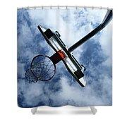 Long Shot Shower Curtain by Tom Druin