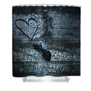 Longing For Love Shower Curtain by Joana Kruse