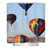 Looking Up Shower Curtain by Carol Groenen