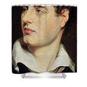 Lord Byron Shower Curtain by William Essex