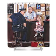 Lost And Found Shower Curtain by Jack Skinner