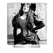 Lottie Collins Shower Curtain by Studio Artist