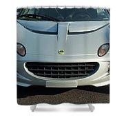 Lotus Elise Shower Curtain by Jill Reger