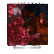 Love And Dreams Shower Curtain by Xueling Zou