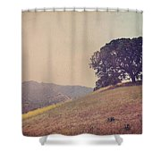 Love Lifts Us Up Shower Curtain by Laurie Search
