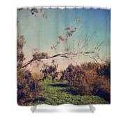 Love Lives On Shower Curtain by Laurie Search