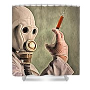 Love Potion Shower Curtain by Michael Pickett