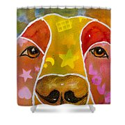 Love Shower Curtain by Roger Wedegis