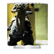 Luke On His Tawn Tawn 1 Shower Curtain by Micah May