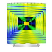 Luminous Energy 18 Shower Curtain by Will Borden
