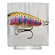 Lured Shower Curtain by Cheryl Young
