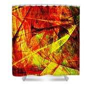 Lust 20130512 square Shower Curtain by Wingsdomain Art and Photography