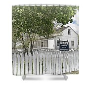 Lydia Leister Farm - Civil War Hospital Shower Curtain by Dyle   Warren
