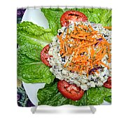 Macaroni Salad 1 Shower Curtain by Andee Design