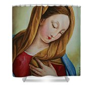 Madonna Shower Curtain by Marna Edwards Flavell