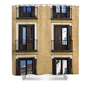 Madrid Shower Curtain by Frank Tschakert