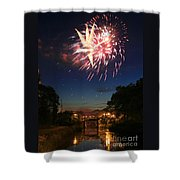 Magic in the Sky Shower Curtain by Paula Guttilla