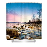 Magic Morning Shower Curtain by Davorin Mance