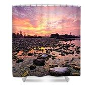 Magic Morning II Shower Curtain by Davorin Mance