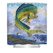 Mahi Hookup Off0020 Shower Curtain by Carey Chen