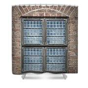 Malmohus Window Shower Curtain by Antony McAulay