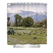 Mancos Colorado Landscape Shower Curtain by Janice Rae Pariza
