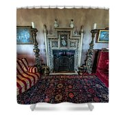 Mansion Sitting Room Shower Curtain by Adrian Evans