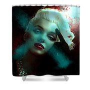 Marilyn 128 Tryp  Shower Curtain by Theo Danella