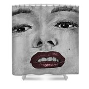 Marilyn Shower Curtain by David Patterson