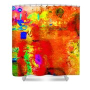 Marina Night Shower Curtain by Chuck Staley