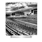 Martin Stadium On The Washington State University Campus Shower Curtain by David Patterson