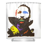 Marvin Gaye Shower Curtain by Stormm Bradshaw