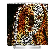 Mary - Holy Mother By Sharon Cummings Shower Curtain by Sharon Cummings