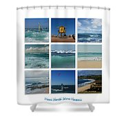 Maui North Shore Hawaii Shower Curtain by Sharon Mau