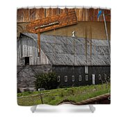 Measure Of Time Gone By Shower Curtain by Liane Wright