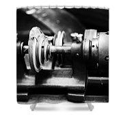 Mechanism Shower Curtain by Karol Livote