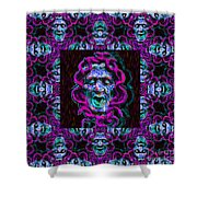 Medusa's Window 20130131m180 Shower Curtain by Wingsdomain Art and Photography